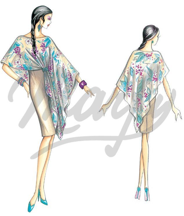 Sewing pattern DressSewing Pattern 3322 | marfy | Pinterest ...