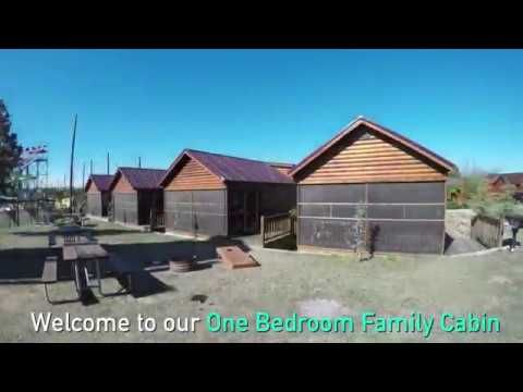 Tour Of One Bedroom Family Cabins @ North Texas JellystoneTM