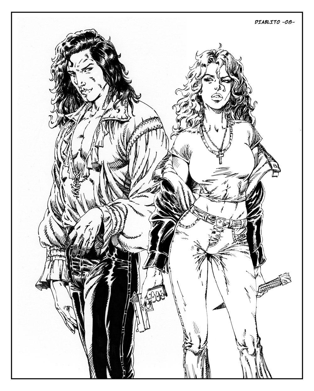 Jean Claude & Anita Blake (anita Blake Series) · Anita Blake Seriesvampire  Hunterfanartnecromancerbook
