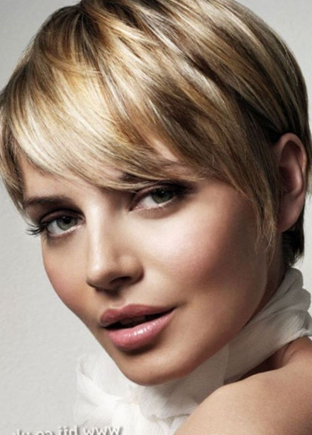short hairstyles fat faced