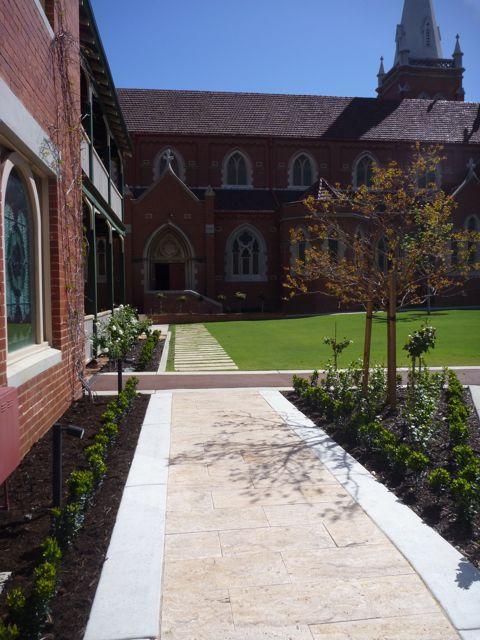 Subiaco Garden design_Church grounds by RedBird
