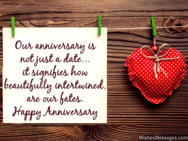 Happy dating anniversary messages