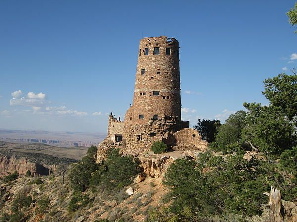 Desert Watchtower Photograph