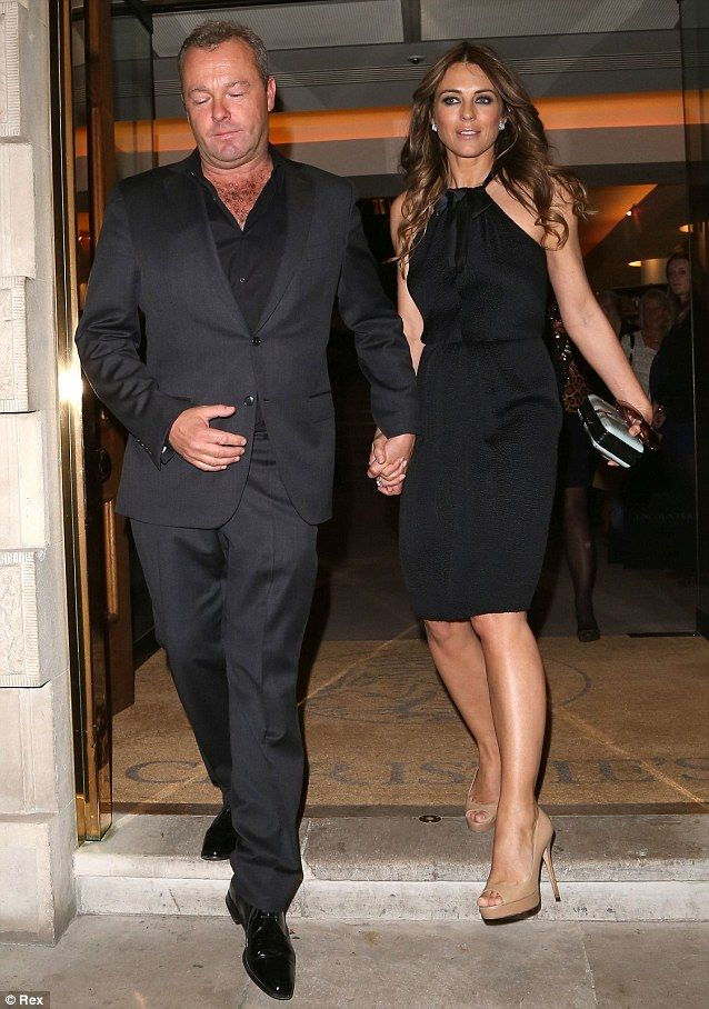 Elizabeth Hurley Elizabeth Hurley Hurley Celebrity Outfits