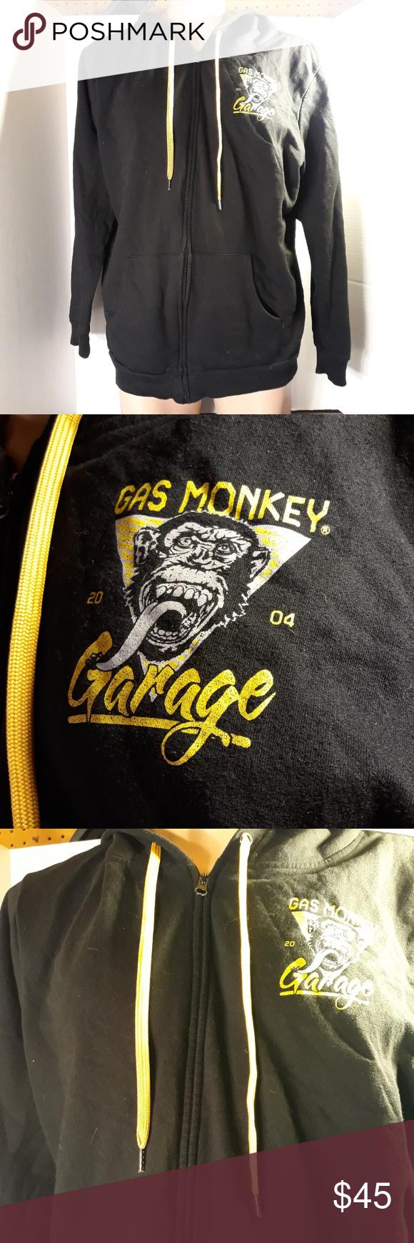 2004 Vintage Gas Monkey Garage Hoodie No rips or stains Gas Monkey Garage Shirts Sweatshirts & Hoodies #gasmonkeygarage