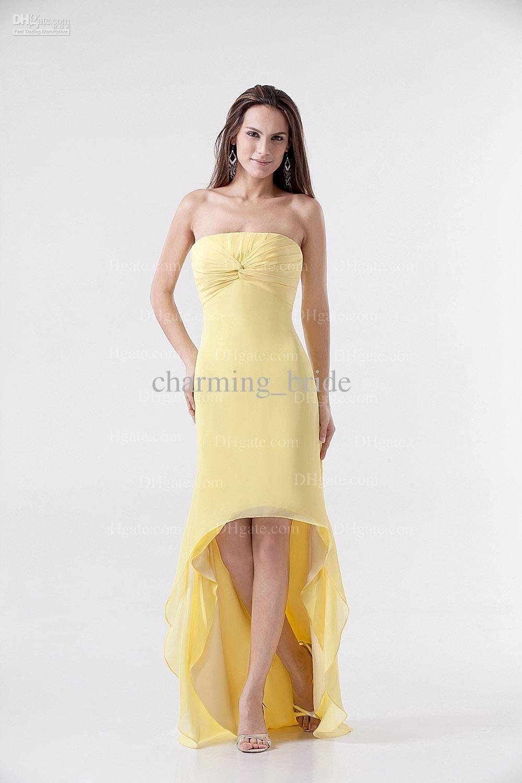 Yellow Bridesmaid Dresses Under 100 | Top 50 Yellow Bridesmaid ...