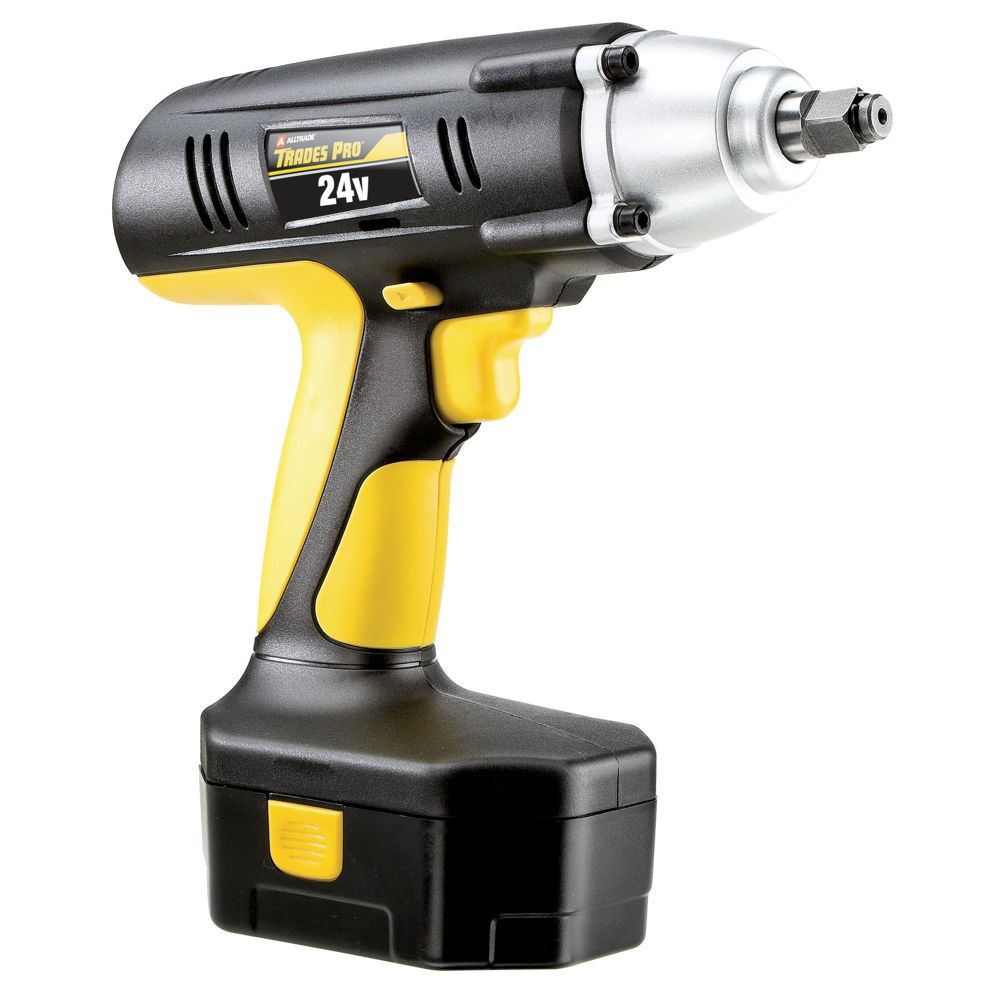Trades Pro 24v Cordless Impact Wrench 1 2 Drive 837212