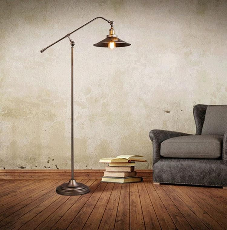 Nashville (With images) Floor lamp, Long arm floor lamp