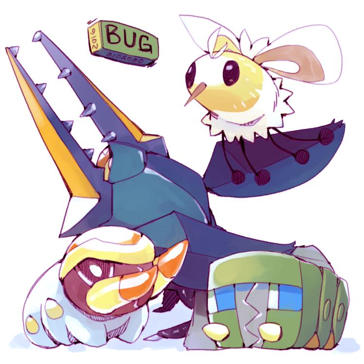 Cutiefly Grubbin Charjabug And Vikavolt Pokémon Pinterest
