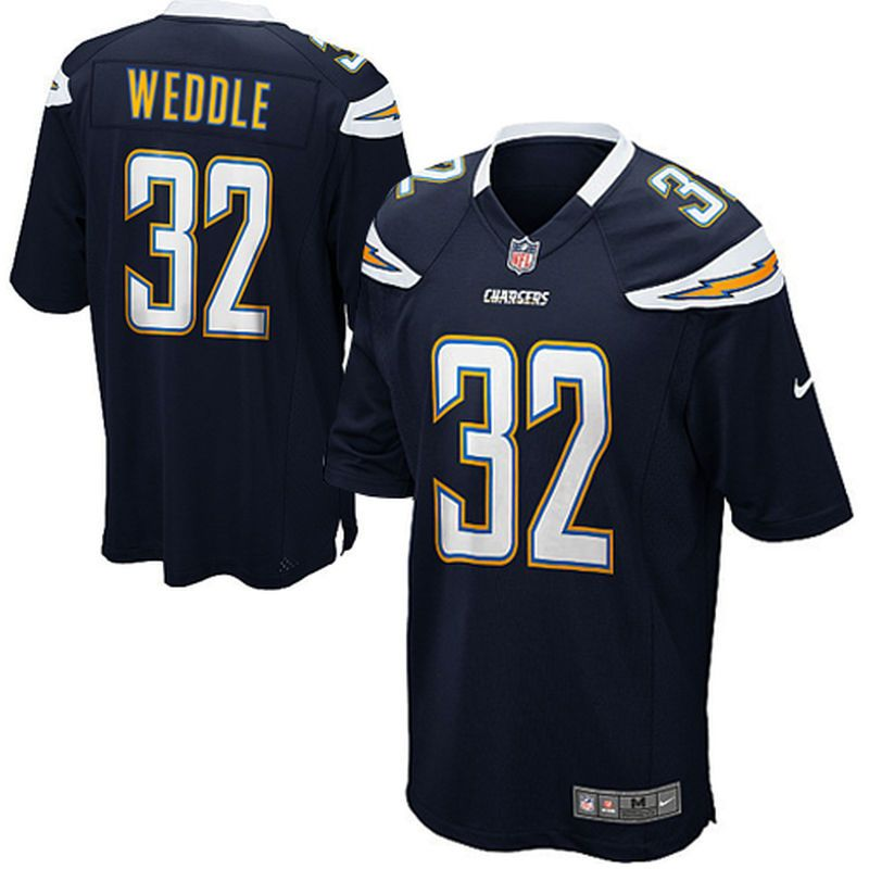 eric weddle san diego chargers nike youth team color game jersey navy blue