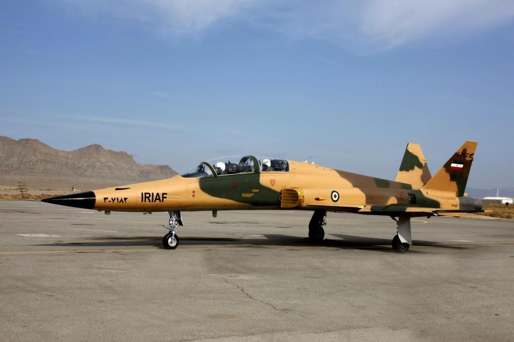 Em meados dos anos 2000, o Irã alegou produzir mais uma estrutura, novamente uma aeronave supostamente totalmente nacional, o HESA Saeqeh.