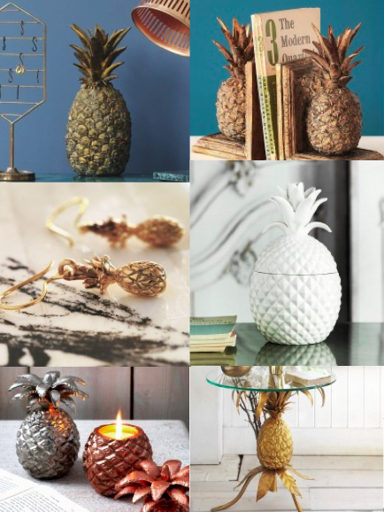 As usual we are Pineapple mad..  Some of these we have, some of these we want, some of these we NEED.   rarefood.com