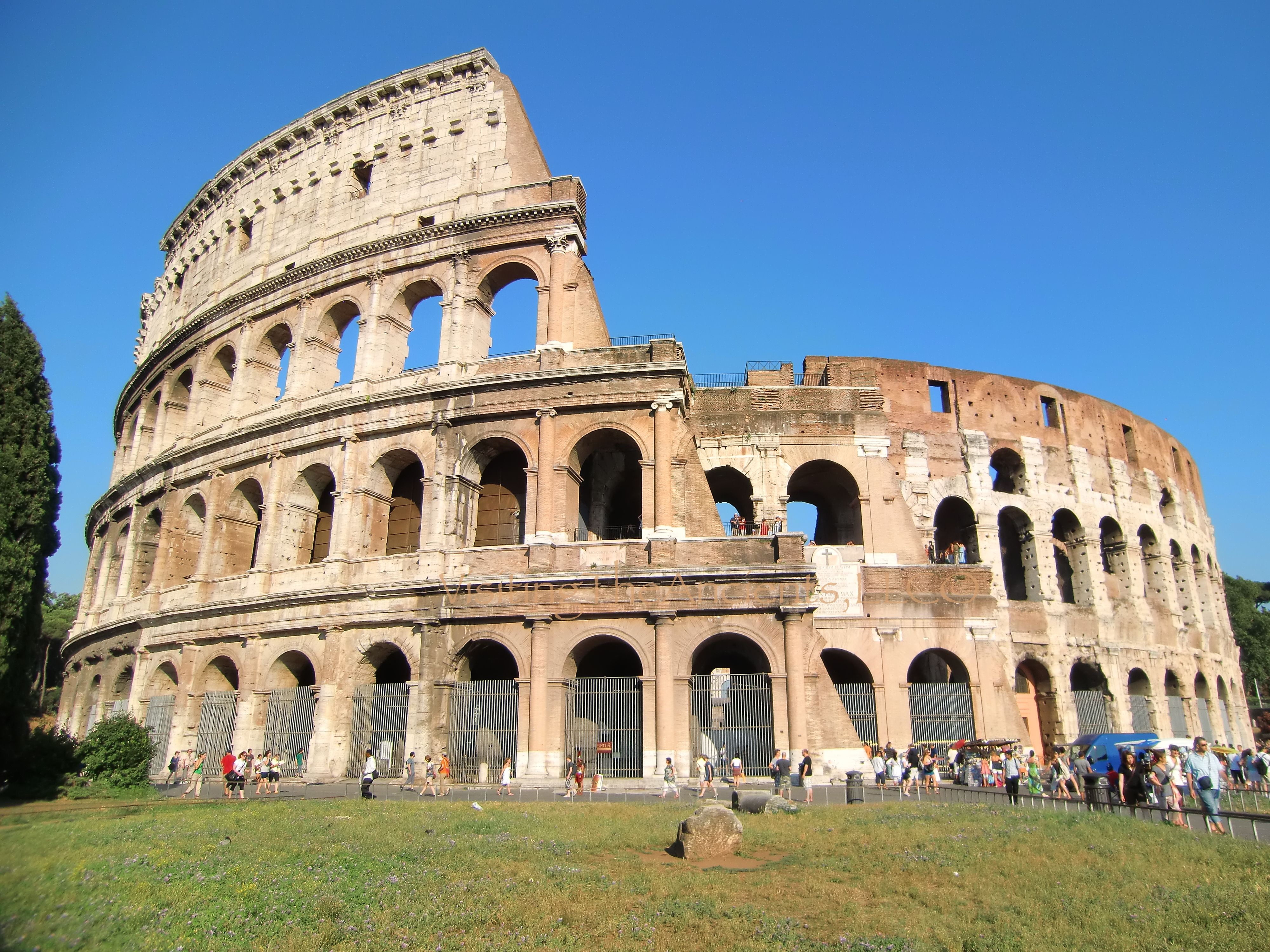 Awesome Rome Colosseum In High Quality