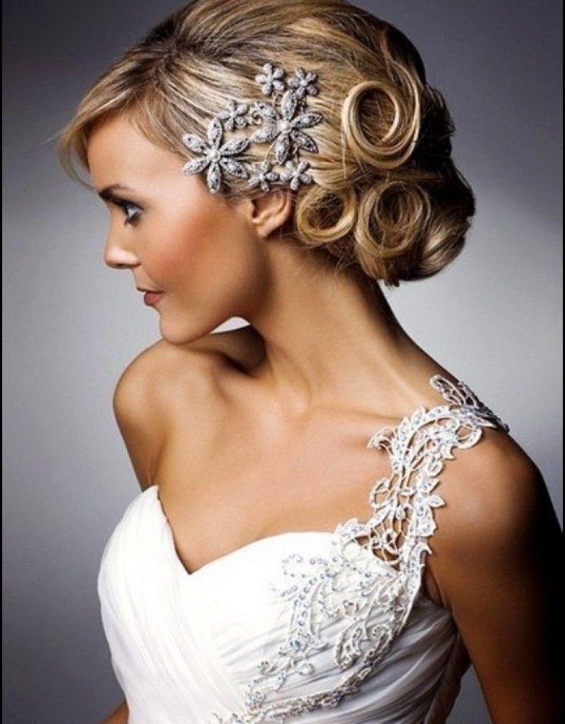 short wedding hairstyles - Google Search