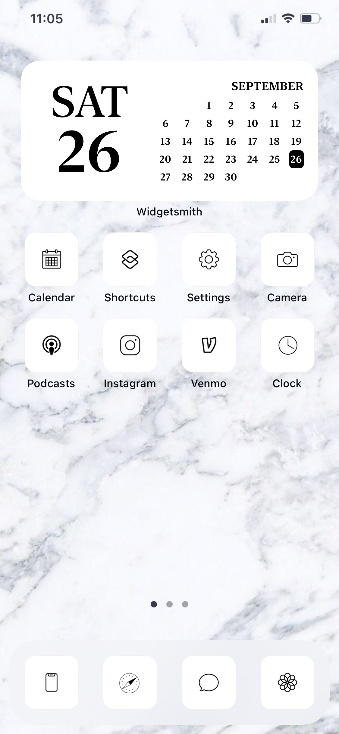 Ios 14 App Icons Minimalist Aesthetic Black White In 2020 App Icon Homescreen Iphone Home Screen Layout