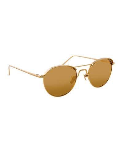4acd41a0c673 Round Titanium Sunglasses