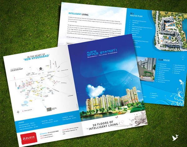 Beautiful Corporate Brochure Design Ideas  Examples  Graphic