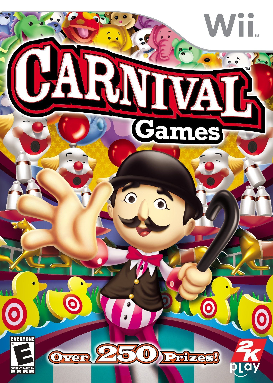 Amazon Com Carnival Games Nintendo Wii Artist Not Provided Video Games Carnival Games Carnival Games Wii Wii Games