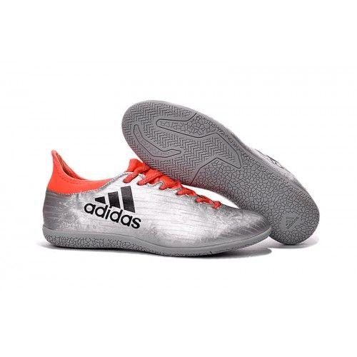 wholesale dealer cec43 a80a8 Adidas X Indoor Kopačky Stříbro Oranžový Černá
