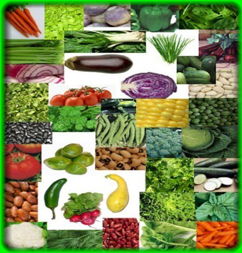 50 Survival Vegetable Seeds Non Hybrid 47 Variety Heirloom By Be Prepared Now Http Www Amazon Com Dp B004ogvtq Survival Seeds Heirloom Seeds Vegetable Seed