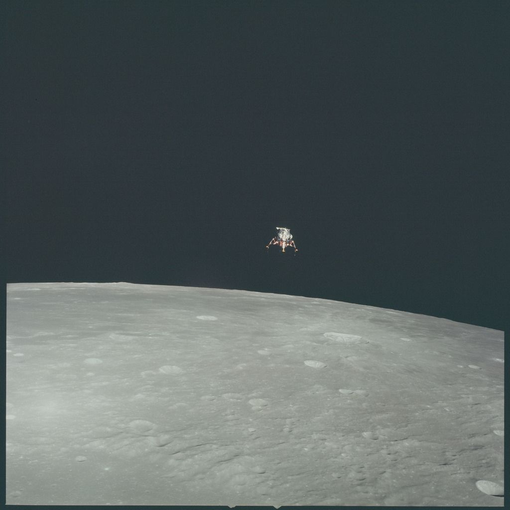 Apollo 12 Hasselblad image from film magazine 51/R - Orbital