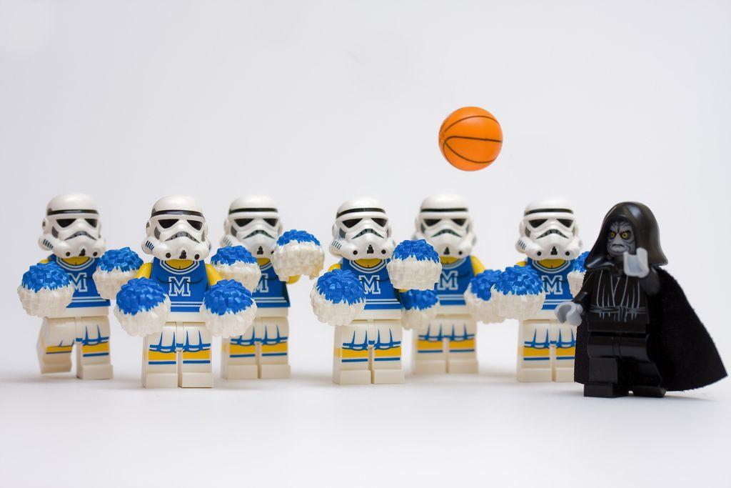 Cheerleaders   Lego star wars, Star wars humor, Lego