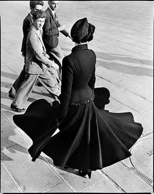 "Richard Avedon, Renee, ""The new Look of Dior"", Paris August 1947"