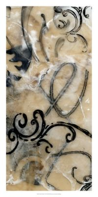 Swirls & Whirls I. Encaustic and Collage, by Jennifer Goldberger