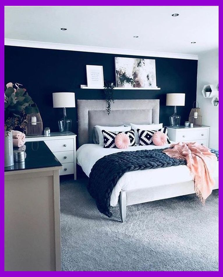 14+ Fancy Master Bedroom Color Scheme Ideas  Blue Pink Bedroom