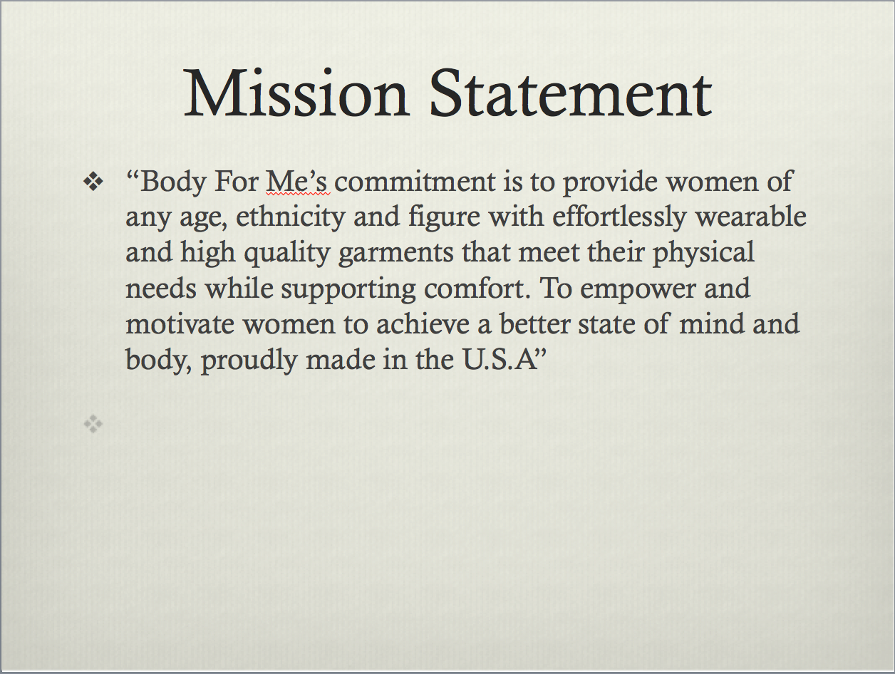 Body For Me S Mission Statement Women Motivation Mission Statement Athletic Women Fashion