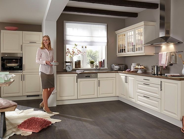 Nobilia k che castello 390 magnolia gewischt k che for Exclusive barhocker