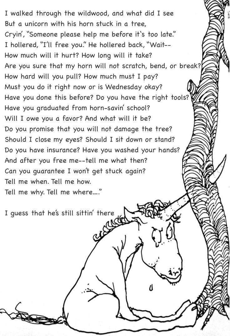 short unicorn poems - Google Search