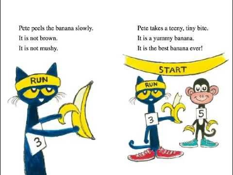 Pete The Cat And The Bad Banana Read Aloud Book Youtube