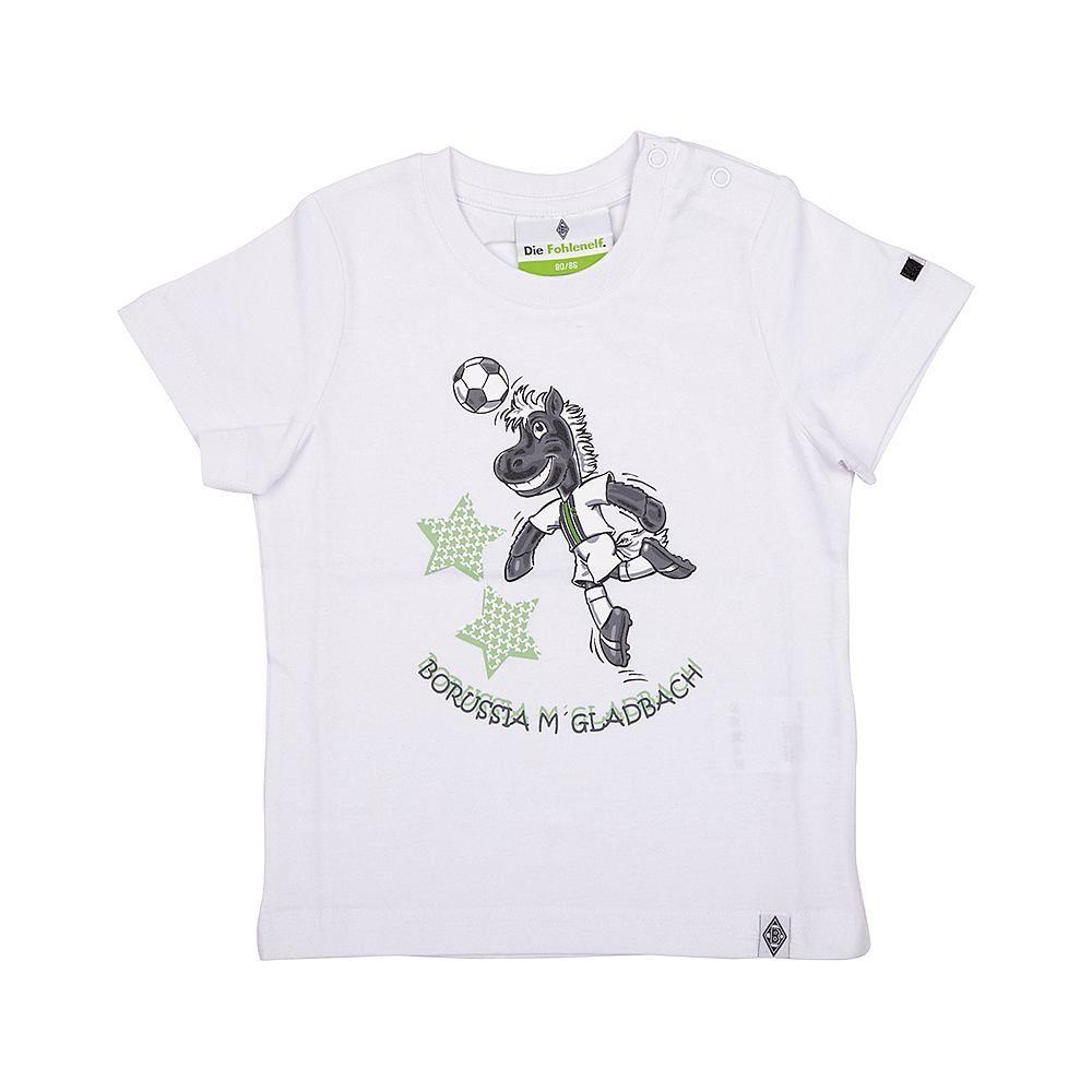Dieses Borussia Mönchengladbach T-Shirt für Kleinkinder lässt Kinderherzen höher schlagen. Der süße Frontprint mit Jünter in Aktion ist genau das, was kleinen Kindern besonders viel Freude bereitet....