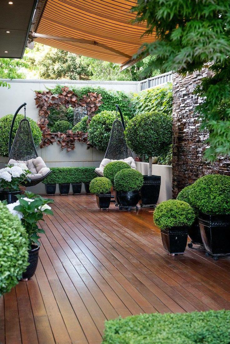 Landscape Ide Halaman Belakang Rumah Kebun Rumah Dan Kebun Backyard garden and patio ideas