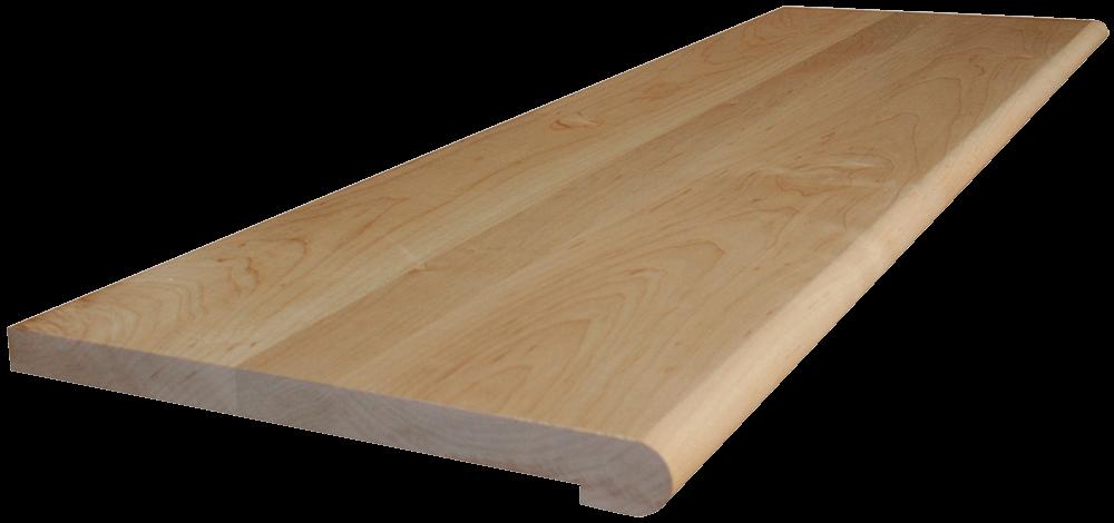 Best Hard Maple Stair Tread Stair Treads Basement Layout 400 x 300
