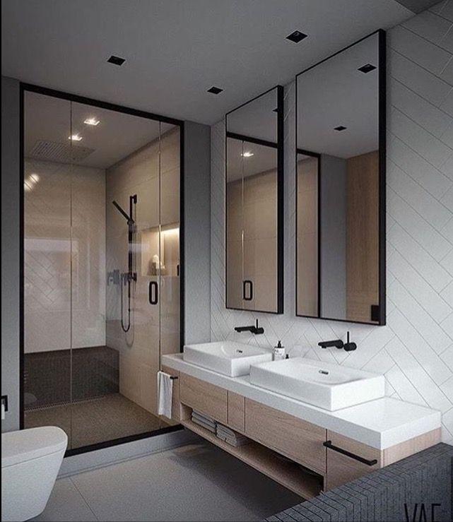 Pinterest Alyssacornwell Simple Bathroom Bathroom Interior Design Modern Bathroom Design