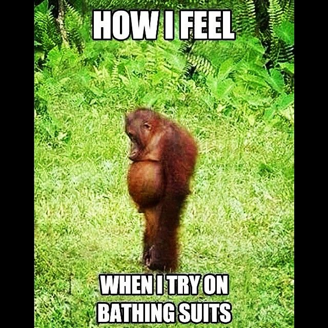Forreal though. Lol. #bikiniproblems