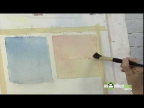How to Paint Skies with Watercolors