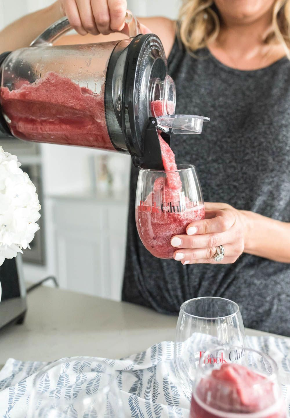 Spicy Wine Frosé Cocktail Recipe Wine tasting notes