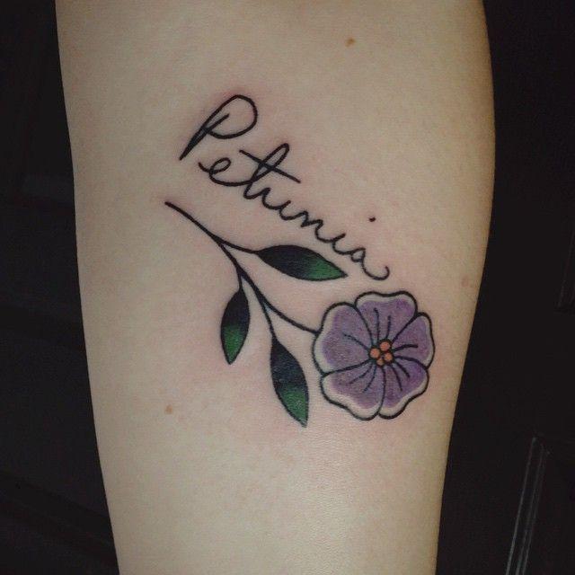 Tattoo Art Petunia Tattoo Design Petunia Tattoo Small Girl Tattoos Pumpkin Tattoo