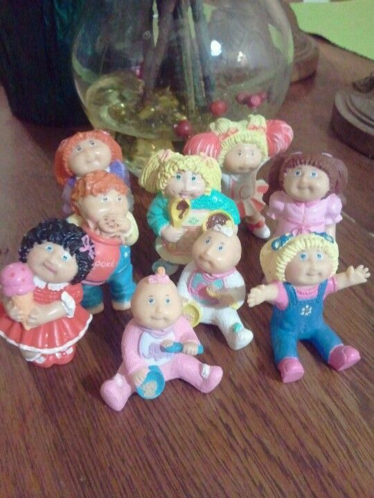 Remeber These Cabbage Patch Kids Dolls Had One On Top Of My Birthday Cake One Year Cabbage Patch Kids Kids Memories My Childhood Memories
