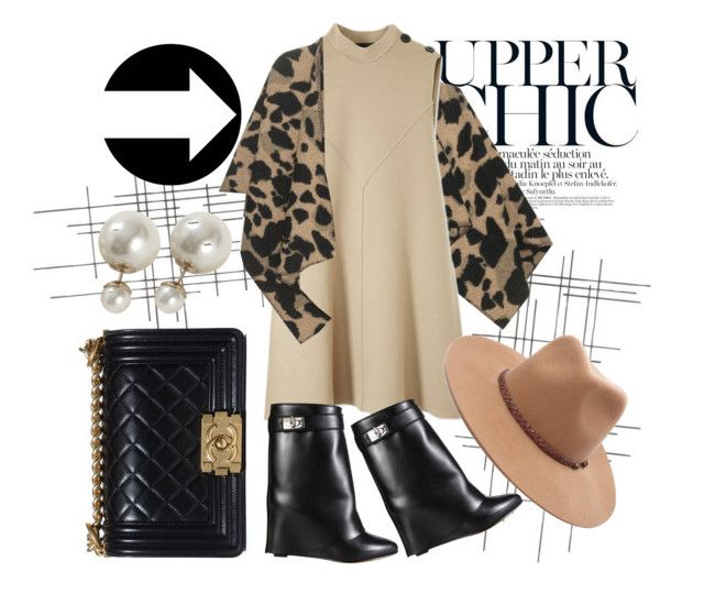 """""""brown"""" by tessacom ❤ liked on Polyvore featuring Crate and Barrel, Burberry, Derek Lam, Givenchy, Chanel and Forever 21"""