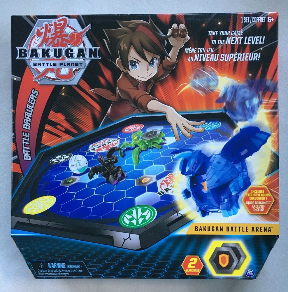 Bakugan Battle Planet Battle Brawlers Arena Aquos Dragonoid 2