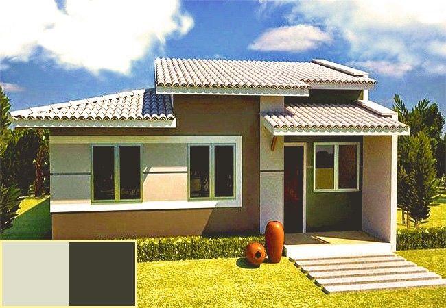 Colores para exteriores de casas peque as 650 450 for Colores para casas pequenas
