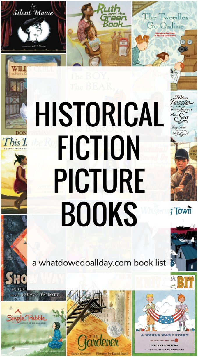 Fascinating MustRead Historical Fiction Picture Books is part of Historical books, Picture book, 3rd grade books, Historical fiction, Historical fiction books, Teaching history - Historical fiction picture books for first grade through fifth grade