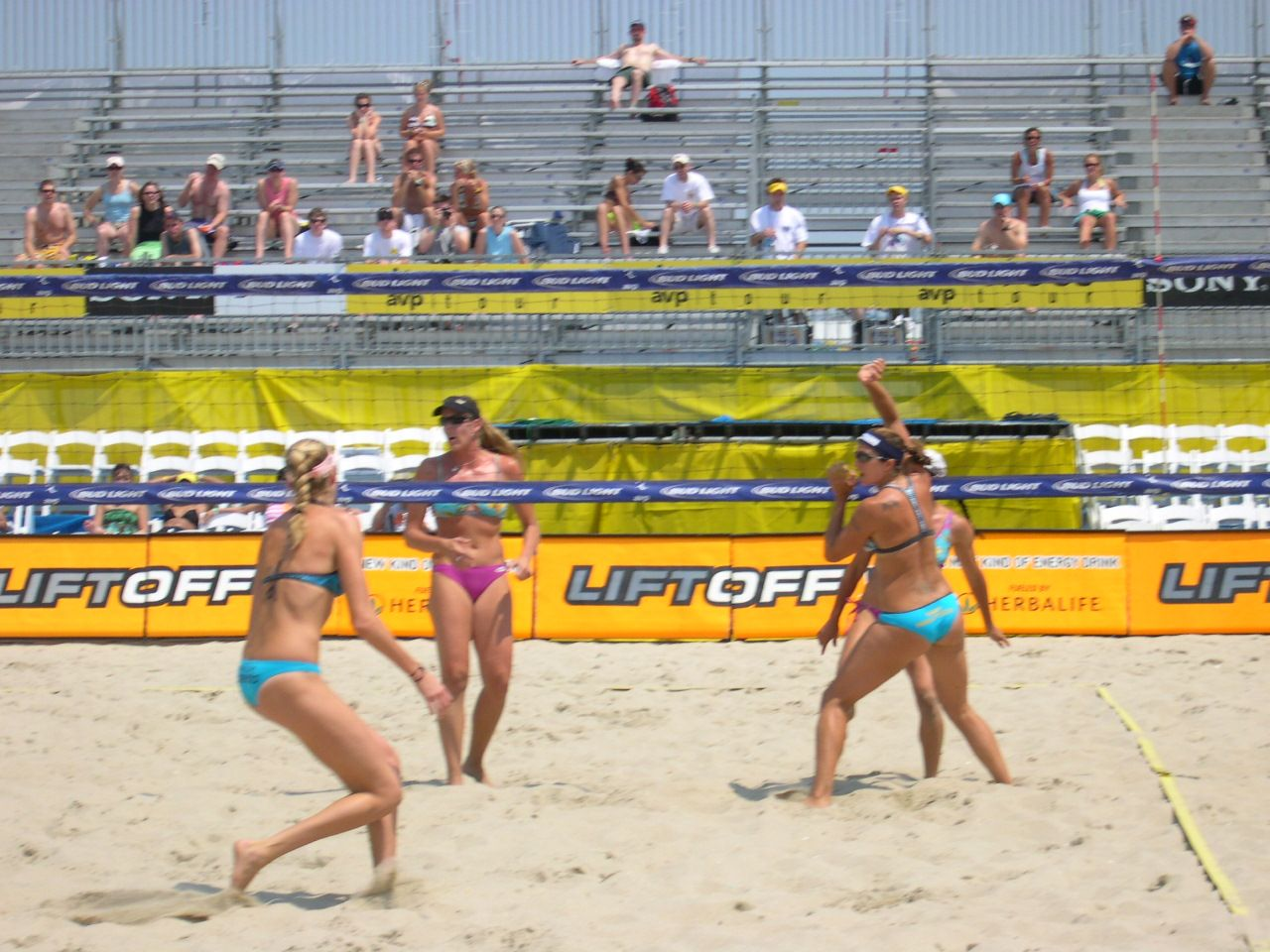 Misty And Kerri At Seaside Nj Avp Tournament Beach Volleyball Sports Sumo Wrestling