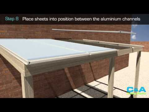 How To Install Corolux Pvc Roof Sheets Youtube Cat House Plans Roofing Sheets Roof Problems