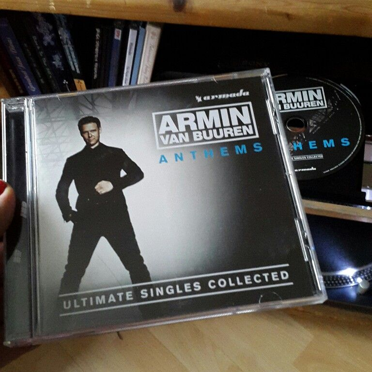 Now Playing Cd Anthems Ultimate Singles Collected Armin Van