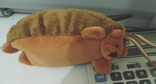 Chipmunk Pencil Case ( Stationery) $0.80